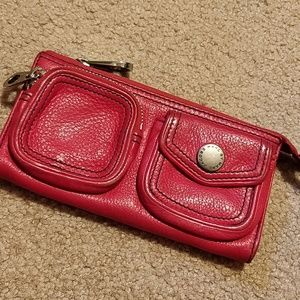 Marc by Marc Jacobs Wallet Clutch Red